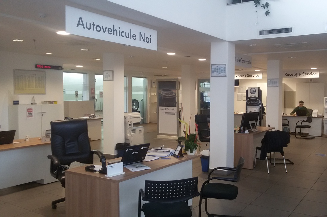 Volkswagen Showroom - Comsig Automobile